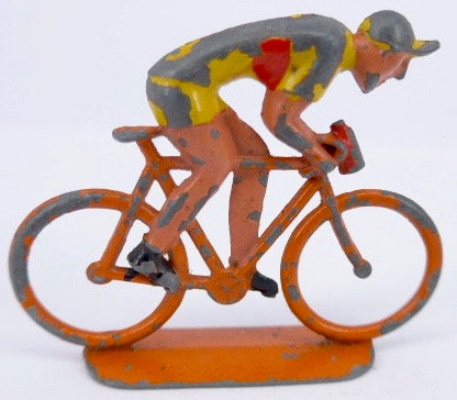 very unusual racing cyclist