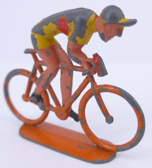 very unusual English racing cyclist
