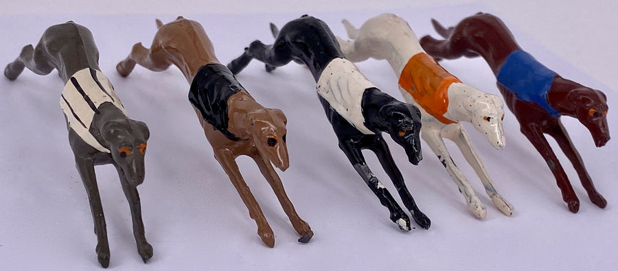 Johillco greyhound racing set