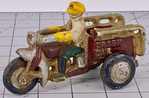 Hubley crash car trike