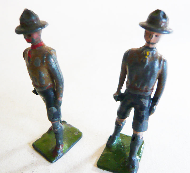 Britains Boy Scouts, pair