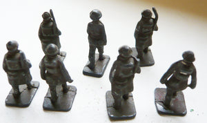small scale soldiers, seven