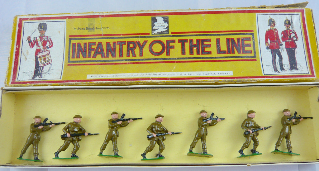 Midwest British Importers Combat Troops boxed set 112
