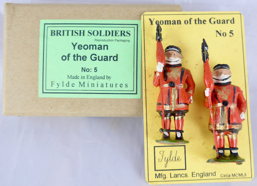 Fylde Miniatures boxed Yeoman of the Guard