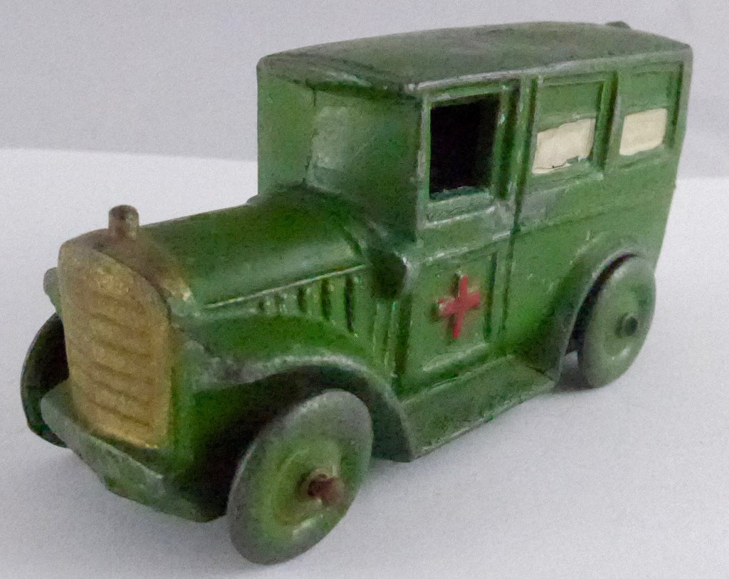 Charbens green ambulance
