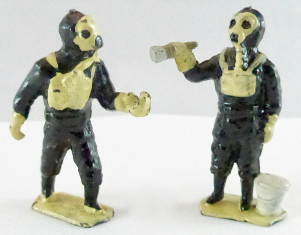 Taylor & Barrett Decontamination Unit - two figures