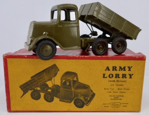 Britains 6 wheel army lorry 1335 boxed