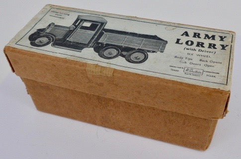 Britains Army lorry empty box