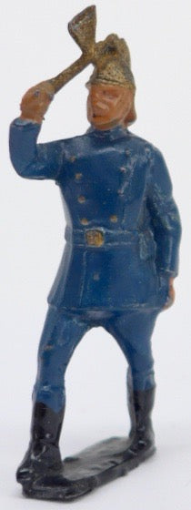 Crescent fireman with axe