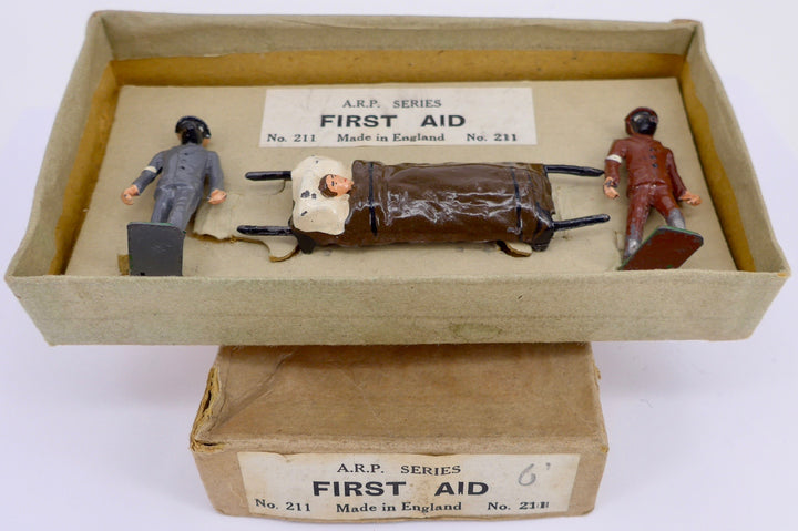 boxed Taylor & Barrett First Aid Stretcher Party, very rare