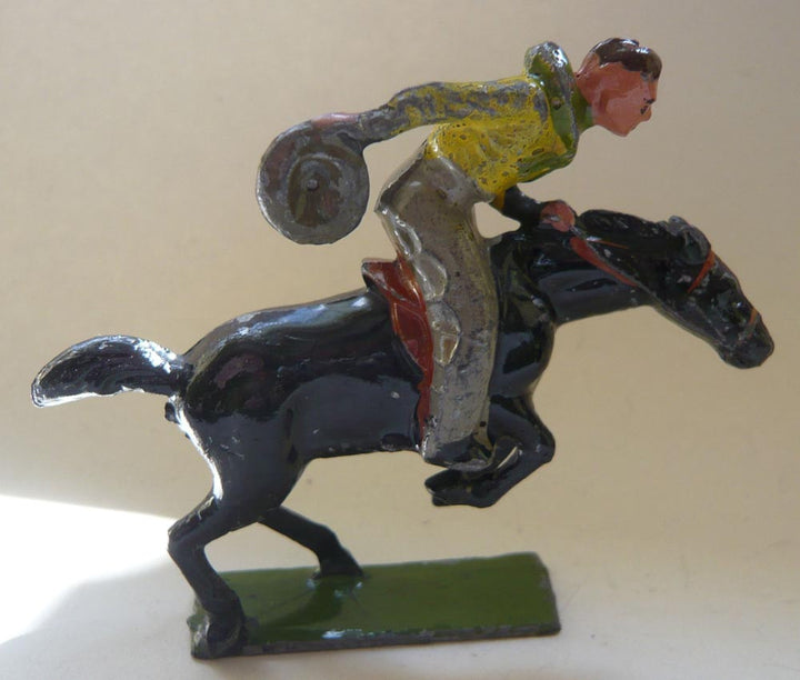 Johillco Bronco Bill on galloping horse