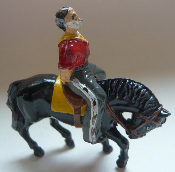 Timpo mounted cowboy prisoner