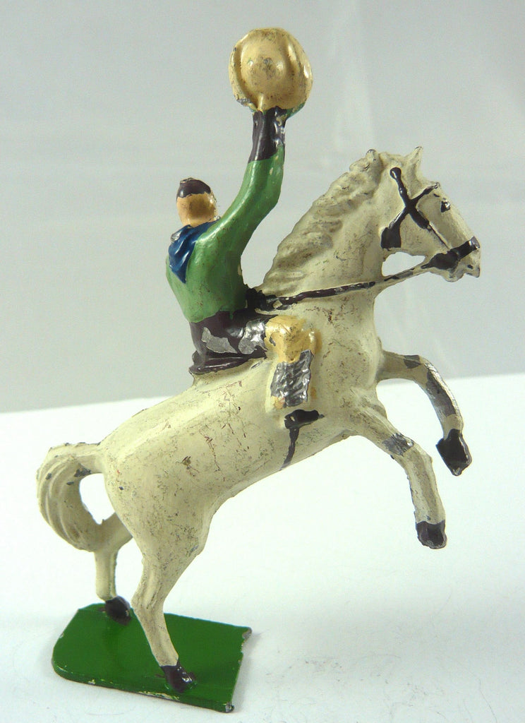 Phillip Segal mounted cowboy on rearing horse, rare