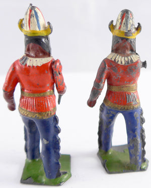 two Britains North American Indian chief Medicine Men