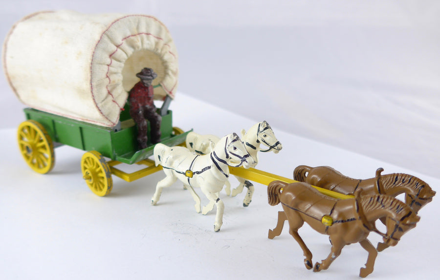 Modern Products covered wagon set, boxed