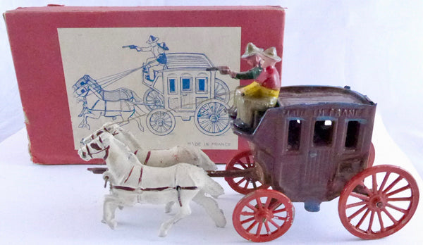 French stagecoach boxed