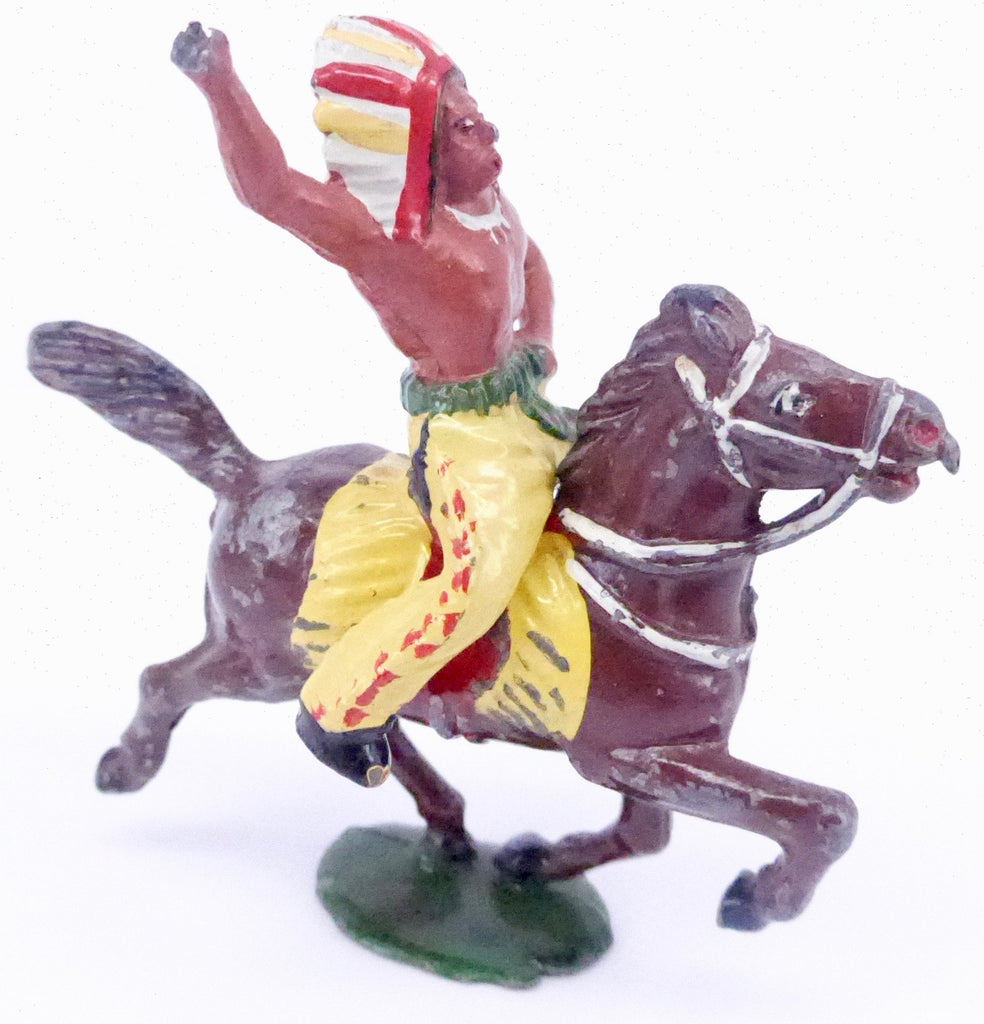 Timpo mounted Indian brave