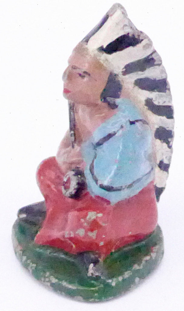 Wend-al North American seated chief, red