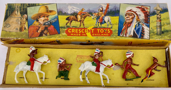 Crescent Western Series North American Indians boxed set