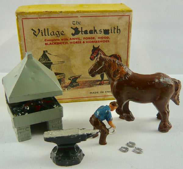 FG Taylor boxed village blacksmith set