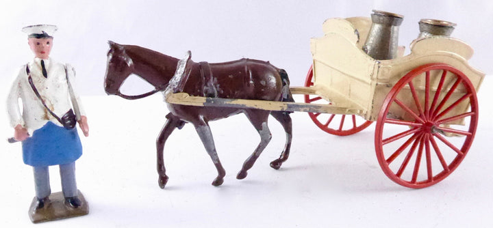 Britains Farm Series horse drawn milk float