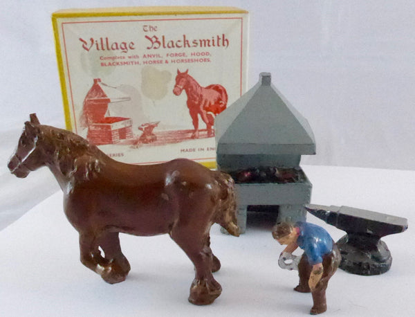 FG Taylor village blacksmith set, boxed