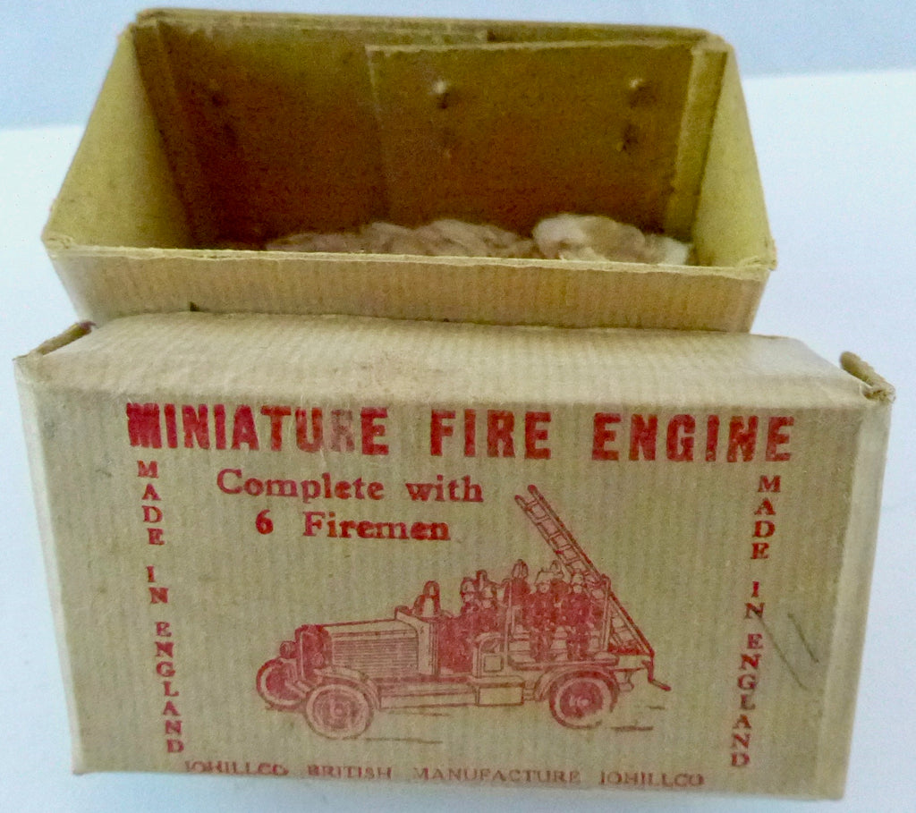 Johillco miniature fire engine with escape ladder, boxed
