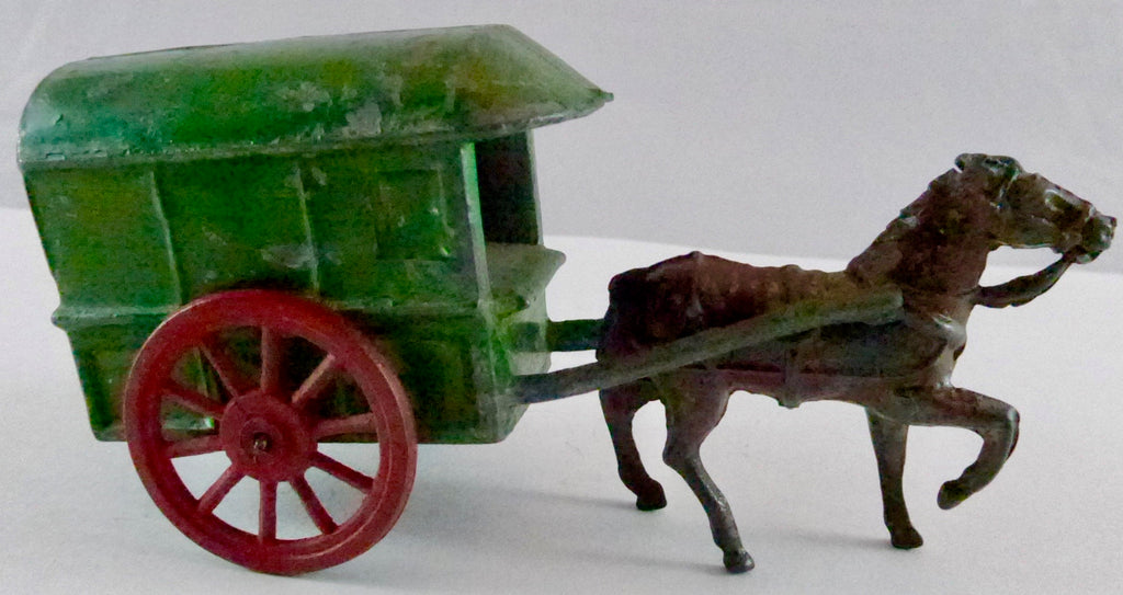 Charbens cape cart, dark green