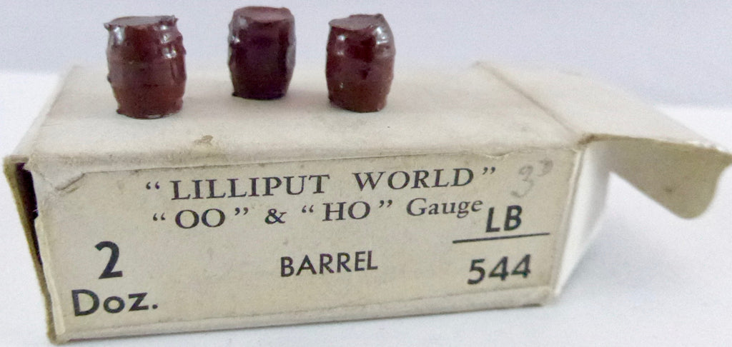 Britains Lilliput Series barrels, set of three