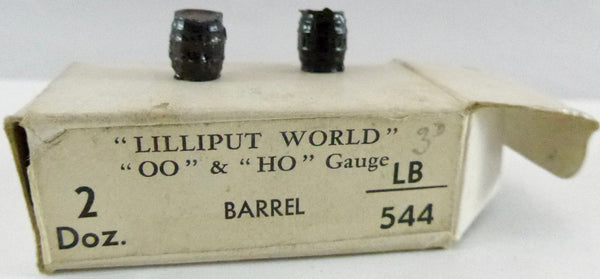 Britains Lilliput Series barrels, set of two