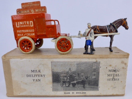 Charbens United Dairies Milk Delivery Van 821, boxed