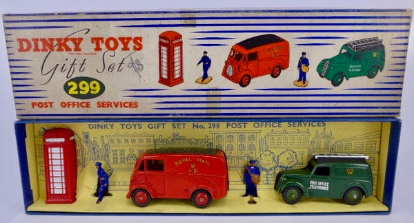boxed Dinky Toys Post Office Services gift set 299