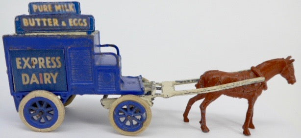 Charbens Express Dairy horse drawn milk float