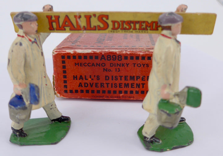 Meccano Dinky Hall's Distemper advertisement set 13, boxed