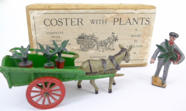 rare Taylor & Barrett Coster with Plants set, boxed