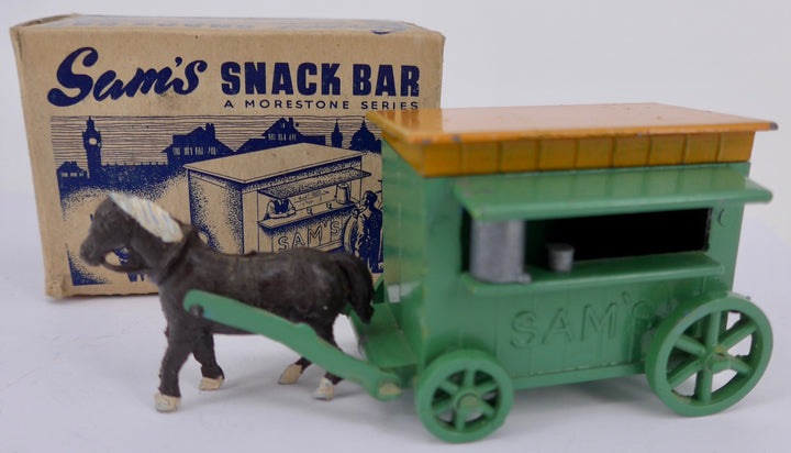 Morestone Sam's snack bar, boxed