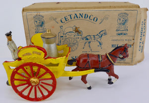 C E Turnbull and Company mik float and milkman, boxed set