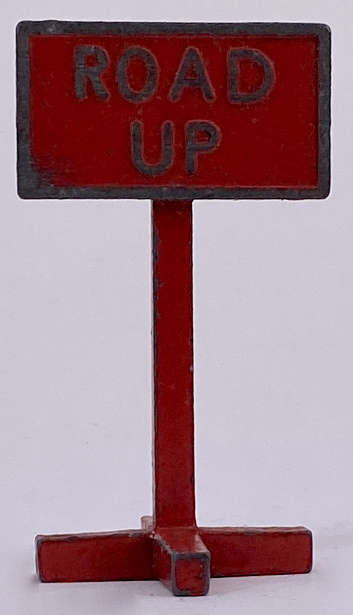 DCMT Road Up sign