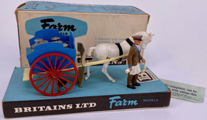 Britains Farm Models milk float, boxed