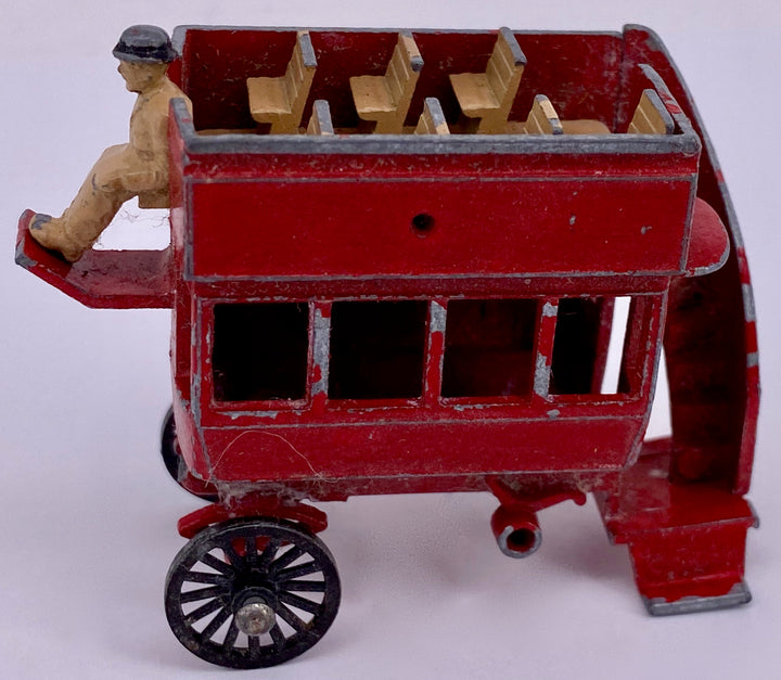 Lesney Matchbox open-topped trolley bus