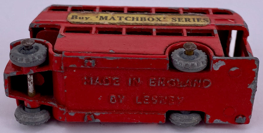 Lesney Matchbox double decker bus