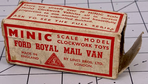 Boxed Minic Ford Royal Mail van