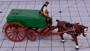 Taylor and Barrett horse drawn water cart and standpipe set