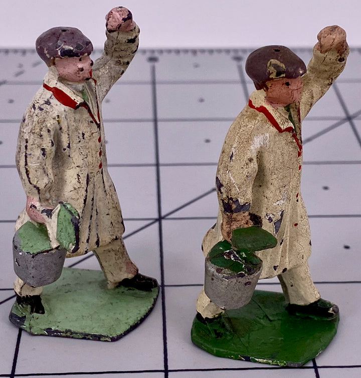Dinky Hornby Series Modelled Miniatures Hall's Distemper advertisement figures