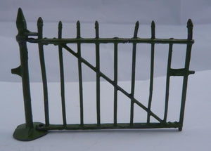 Britains zoo cage enclosure gate and post