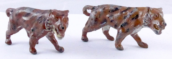 pair of F G Taylor & Sons tigers walking