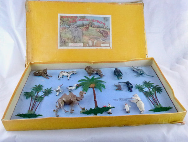 Britains Zoological Series boxed set 3Z