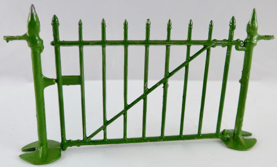 Britains zoo gate with posts