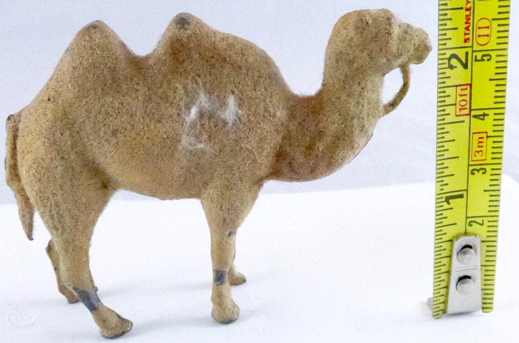 Barrett & Sons flocked camel