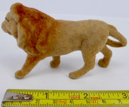 Taylor & Barrett / Barrett & Son flocked lion